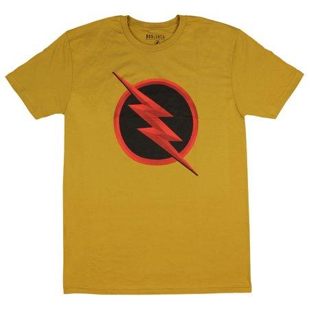 DC Comics The Flash Shirt Men's Reverse Flash Logo T-shirt