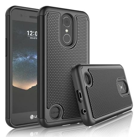 premium selection 2d62f d8a2d LG K20 V Case,LG K20 V Case Sturdy Case,LG K10 2017 Cover,Tekcoo [Tmajor]  Shock Absorbing Hard Cover Cases For LG K20 V / LG TP260 / MP260 -Black