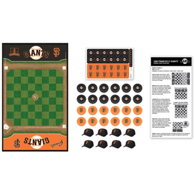 Masterpieces 41538 San Francisco Giants Checkers Puzzle by MasterPieces