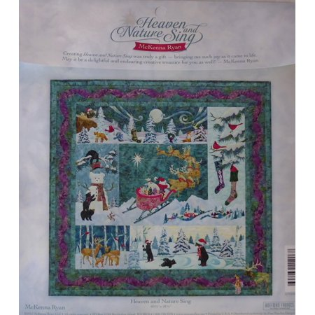 Mckenna Ryan Heaven And Nature Sing 6 Quilt Pattern Set