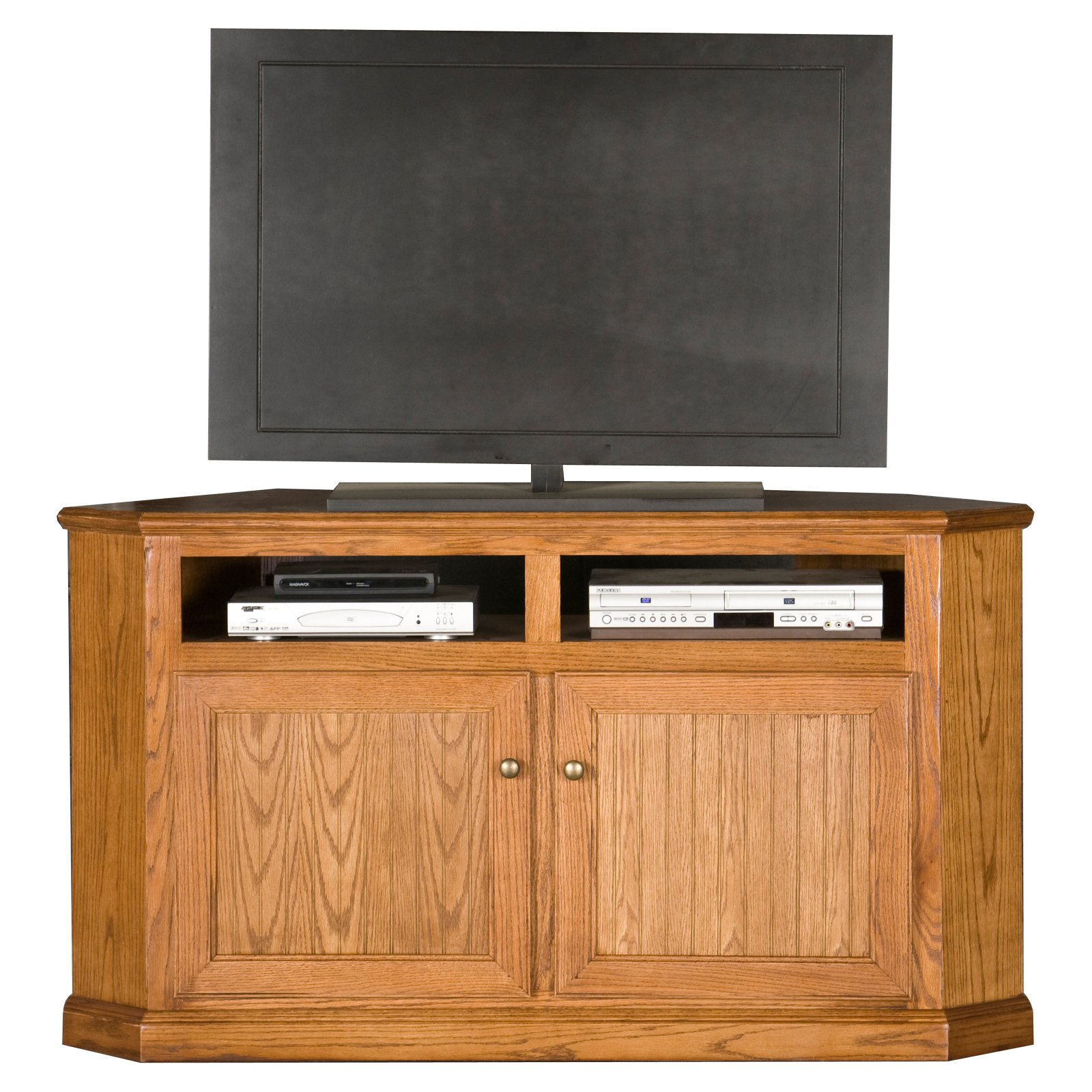 Eagle Furniture Heritage Customizable 56 in. Corner Entertainment TV Stand