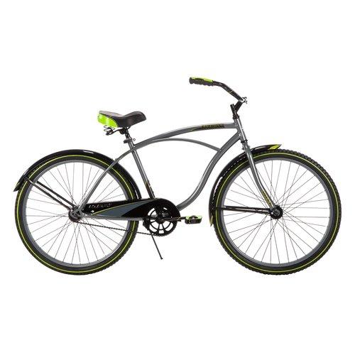 Huffy 26 Quot Cranbrook Mens Cruiser Bike Grey Walmart Com