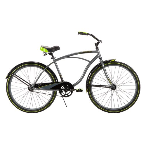 "Huffy 26"" Cranbrook Mens Cruiser Bike, Grey"
