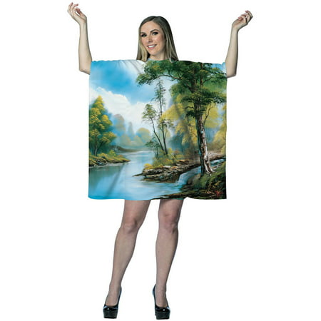 BOB ROSS PAINTING DRESS](Baker Ross Halloween)