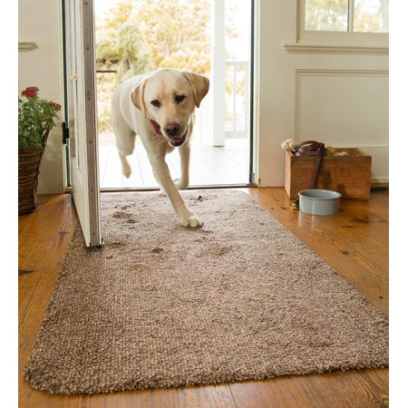 Microfiber Mud Rug - Doormat with Non-Skid Backing, 19