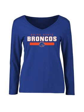 Boise State Broncos Women's Team Strong Long Sleeve T-Shirt - Royal