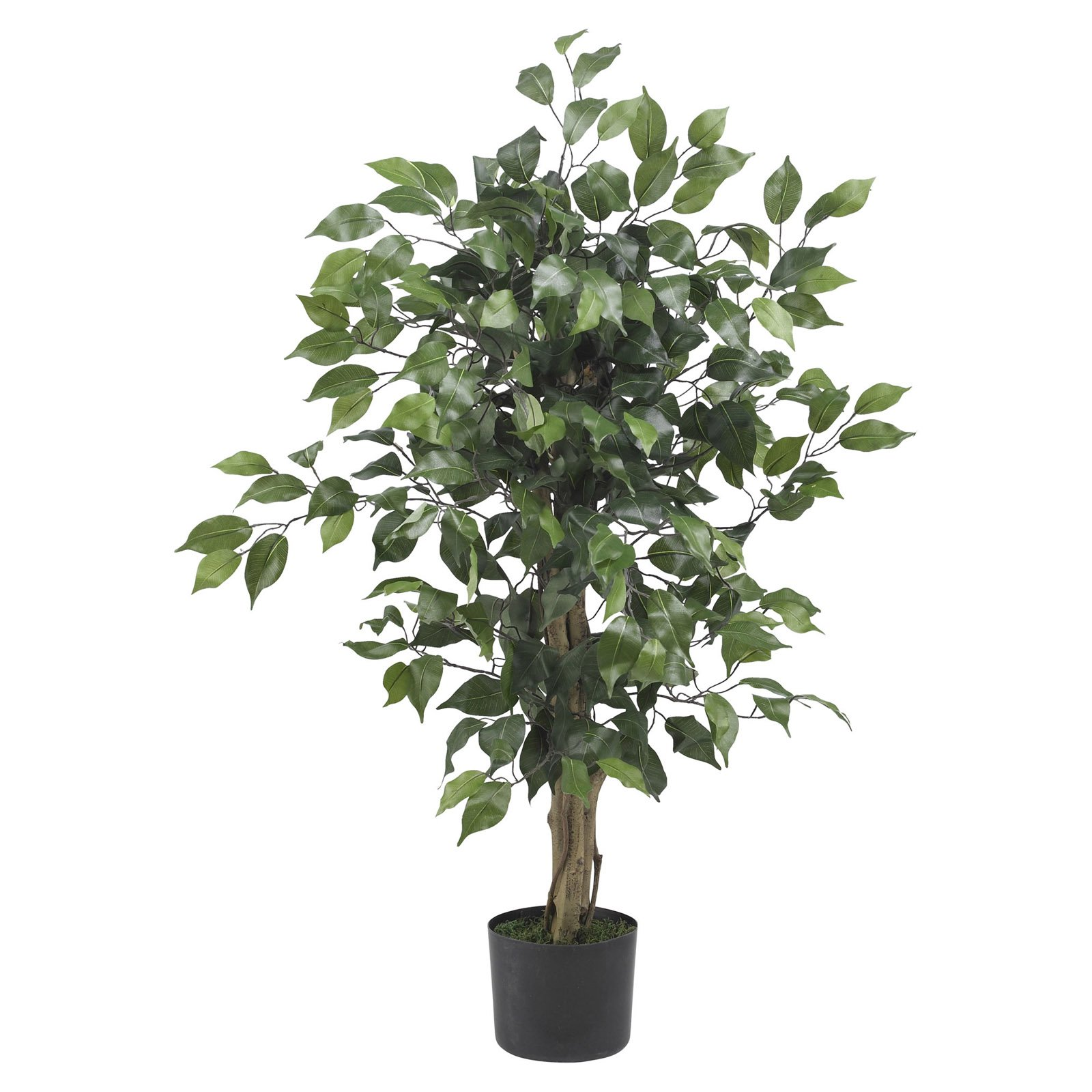 Nearly Natural 3 ft. Artificial Ficus Silk Tree