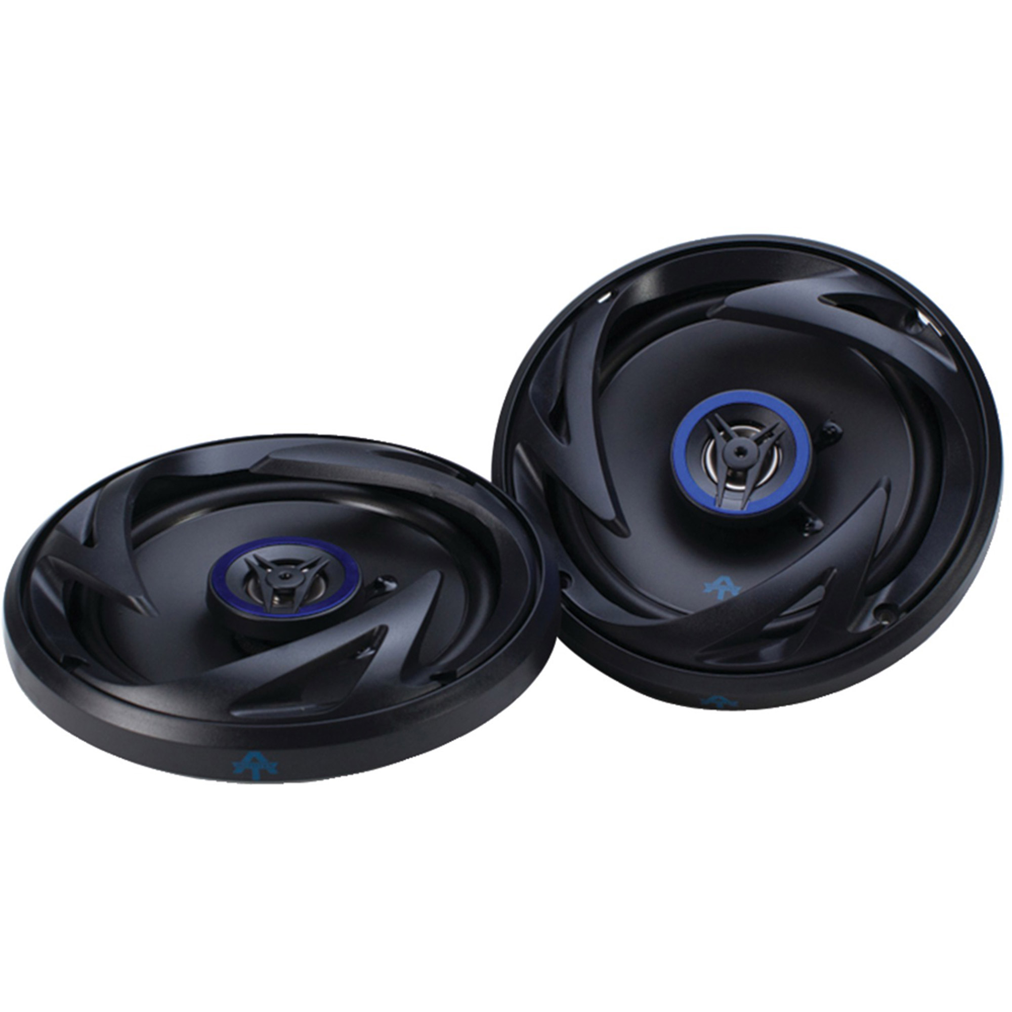 "Autotek ATS65CXS ATS Series Speakers, 6.5"" Shallow Mount, Coaxial, 300 Watts"