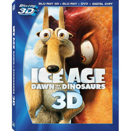 Ice Age 3: Dawn Of The Dinosaurs (3D Blu-ray + Blu-ray + Standard (Ice Age 3 Dawn Of The Dinosaurs Rudy)