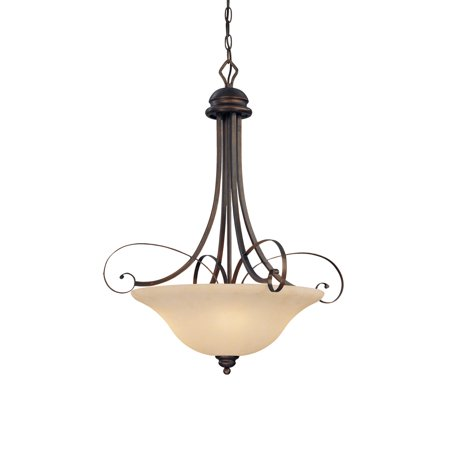 Millennium Lighting 1054-RBZ Chateau Pendant Light In Rubbed Bronze