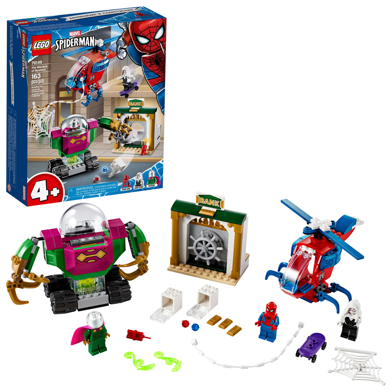 LEGO Marvel Spider-Man The Menace of Mysterio 76149 Superhero Building Toy Preschool Action Figure (163 Pieces)