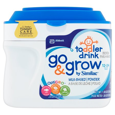Toddler Drink Go & Grow by Similac Milk-Based Powder 12 - 24 Months 1.38lb