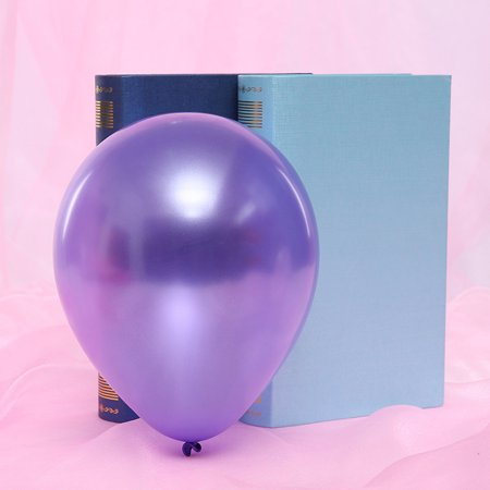 100 Pcs 10 Inch Thicken Round Balloons Colored Pearly Lustre