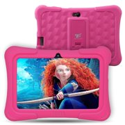 "Tablet Express Dragon Touch Y88X Plus Kids 7"" Tablet Disney Edition, Kidoz Pre-Installed, Android 5.1, Pink"