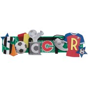 Stacked Statement Stickers-Soccer