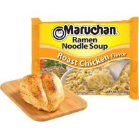 (24 Packs) Maruchan Roast Chicken Instant Ramen, 3 oz