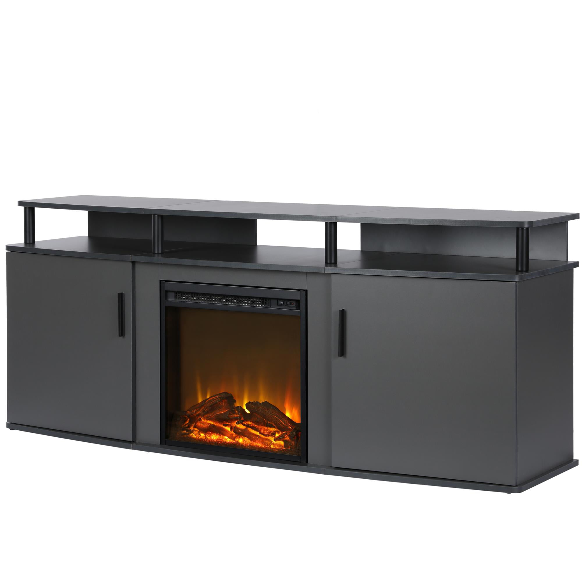 Ameriwood Home Carson Electric Fireplace TV Console for TVs up to 70\ by Ameriwood Home