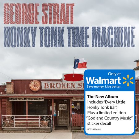 Honky Tonk Time Machine (Walmart Exclusive) (CD)