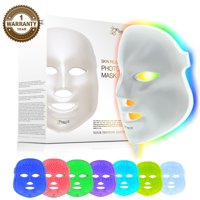 ($110 Value) Project E Beauty LED Photon Therapy Red Blue Green Light Treatment Face Mask