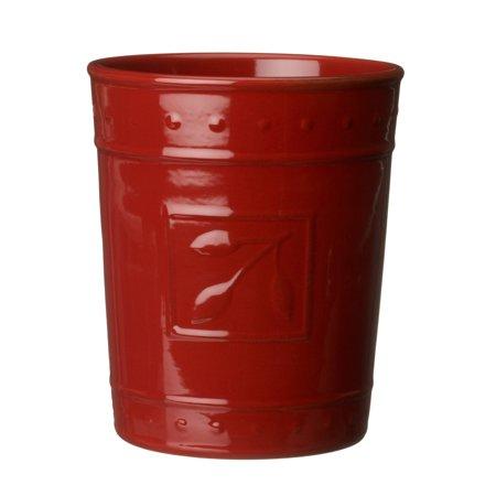 Signature Housewares Sorrento Kitchen Tool Jar Ruby