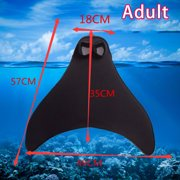 Best NEW Diving Fins - Jbhelth Swimming Mermaids Tail Flippers Diving Swim Fins Review