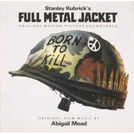 Full Metal Jacket Soundtrack (CD) - Heavy Metal Halloween Soundtrack