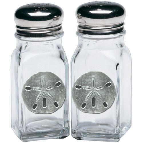 Sand Dollar Salt & Pepper Shakers