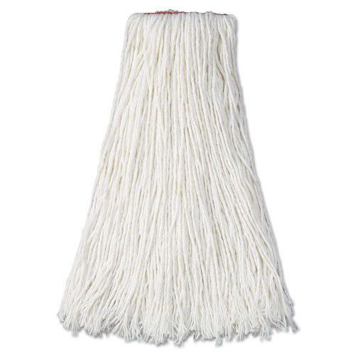 White Blend Rubbermaid Commercial FGL15700WH00 Cut-End Disposable Dust Mop 48-inch