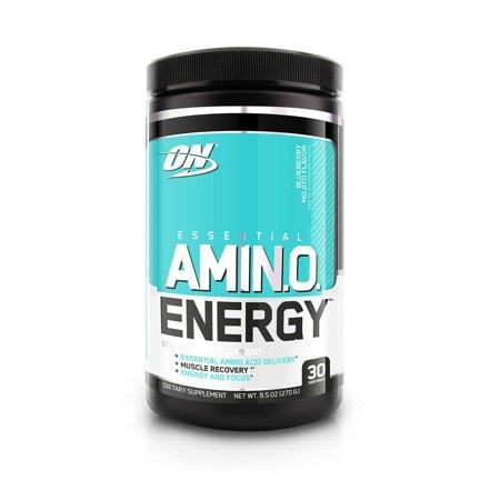 Optimum Nutrition Amino Energy Pre Workout + Essential Amino Acids Powder,  Blueberry Mojito, 30 Servings