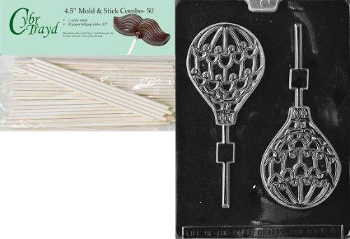 K046 Hot Air Balloon Lollipop Chocolate /& Soap Mold