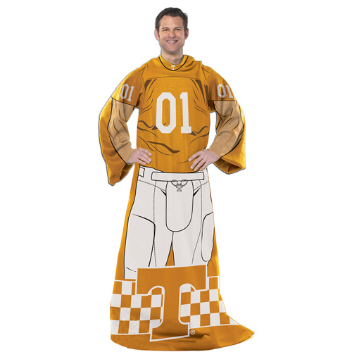 """NCAA Player 48"""" x 71"""" Comfy Throw, Tennessee"""