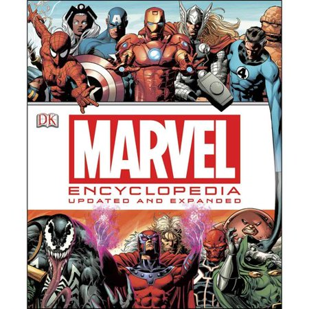 Marvel Encyclopedia: The Definitive Guide to the Characters of the Marvel Universe by