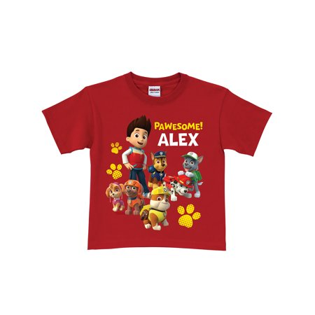 Personalized PAW Patrol Pawesome Kids' T-Shirt, - Kids Personalized