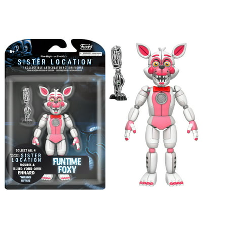 Funko 5  Articulated Action Figure  Five Nights At Freddys   Funtime Foxy