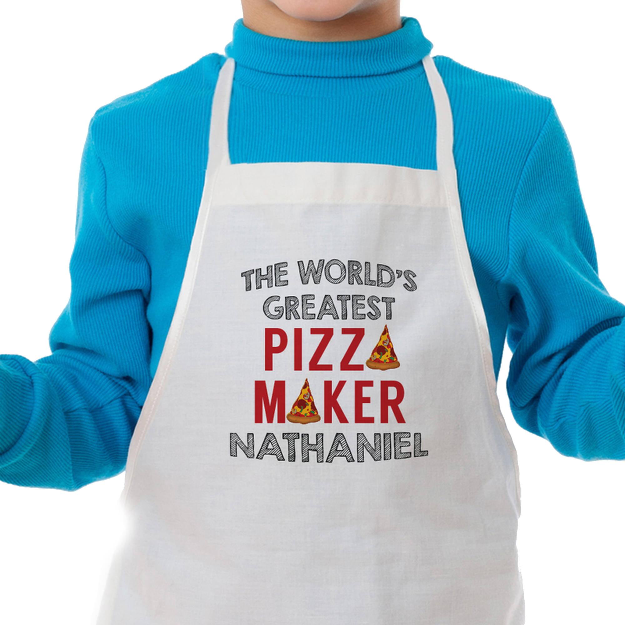 Pizza Maker Custom Kids Apron