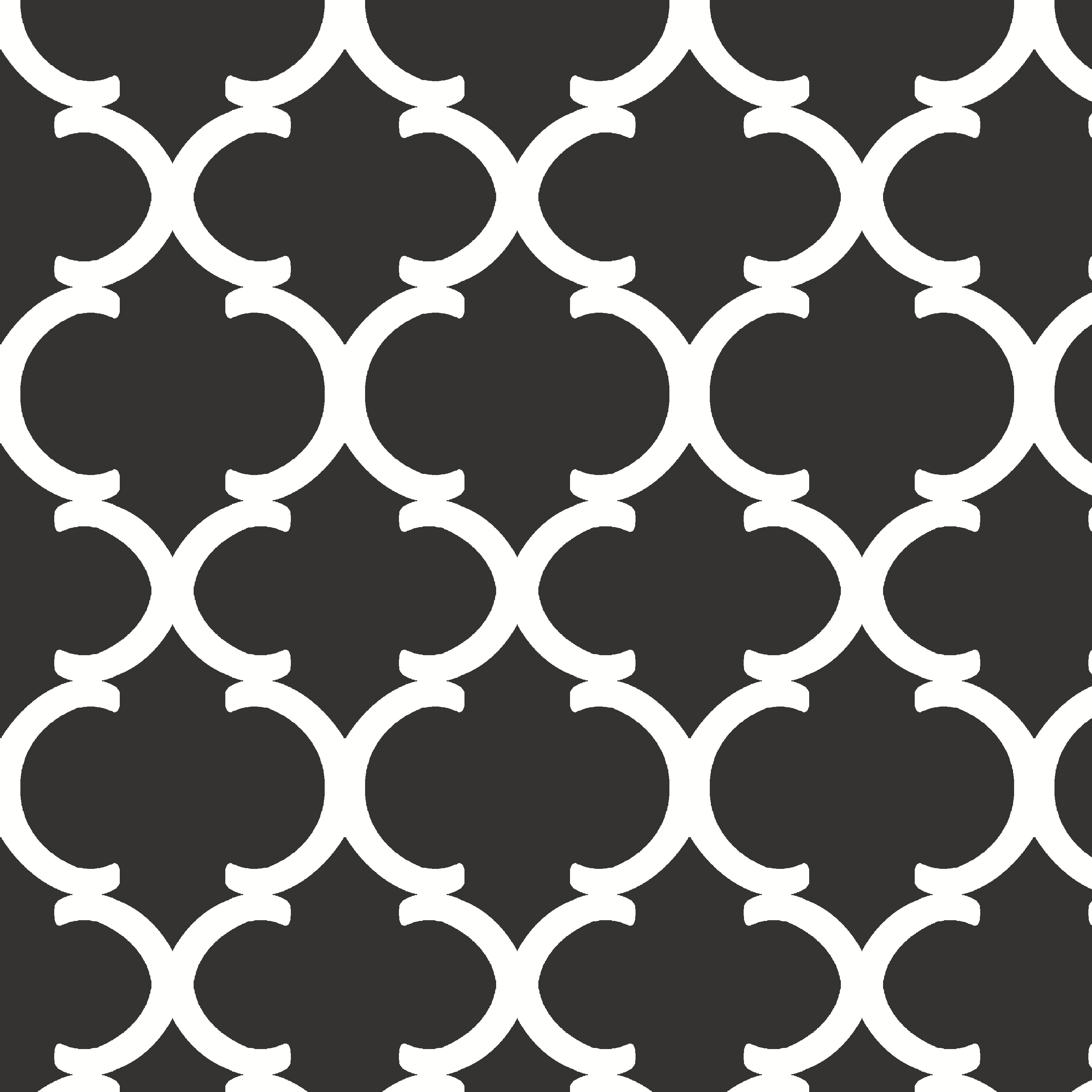 "Waverly Inspirations Cotton Duck 54"" Ogee Curl Black Fabric, per Yard"