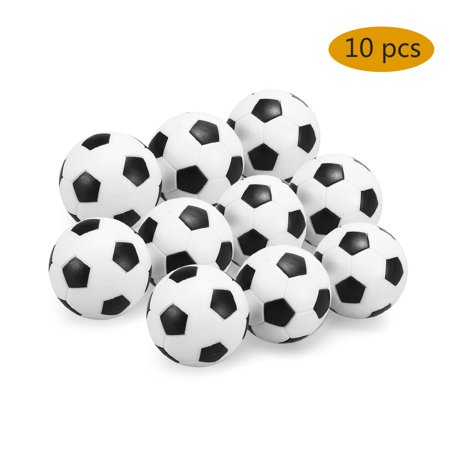 Indoor Foosball Table (4Pcs / 10Pcs Indoor Table Soccer Balls Replacement 32mm Mini Footballs Foosball Table Football For Kids / Adults)