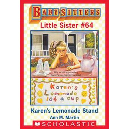 Lemonade Stand Supplies (Karen's Lemonade Stand (Baby-Sitters Little Sister #64) -)