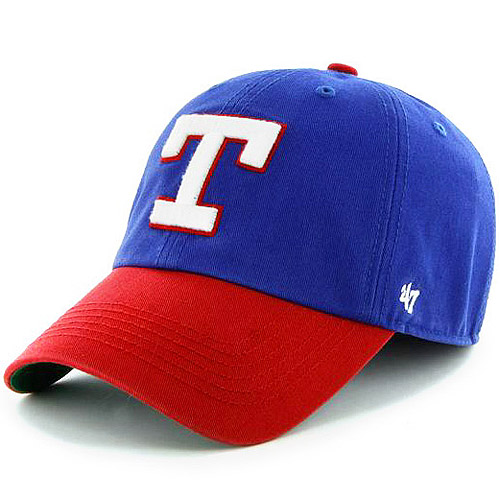 Texas Rangers '47 Brand Franchise Cooperstown Fitted Hat - Royal Blue - S