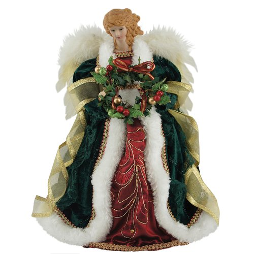 The Holiday Aisle 12'' Christmas Angel Tree Topper