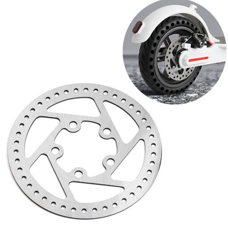 Brake Disc Rotors Replacement Part Pad for Xiaomi M365 Folding Electric Scooter Silver (Scooter Rotor)