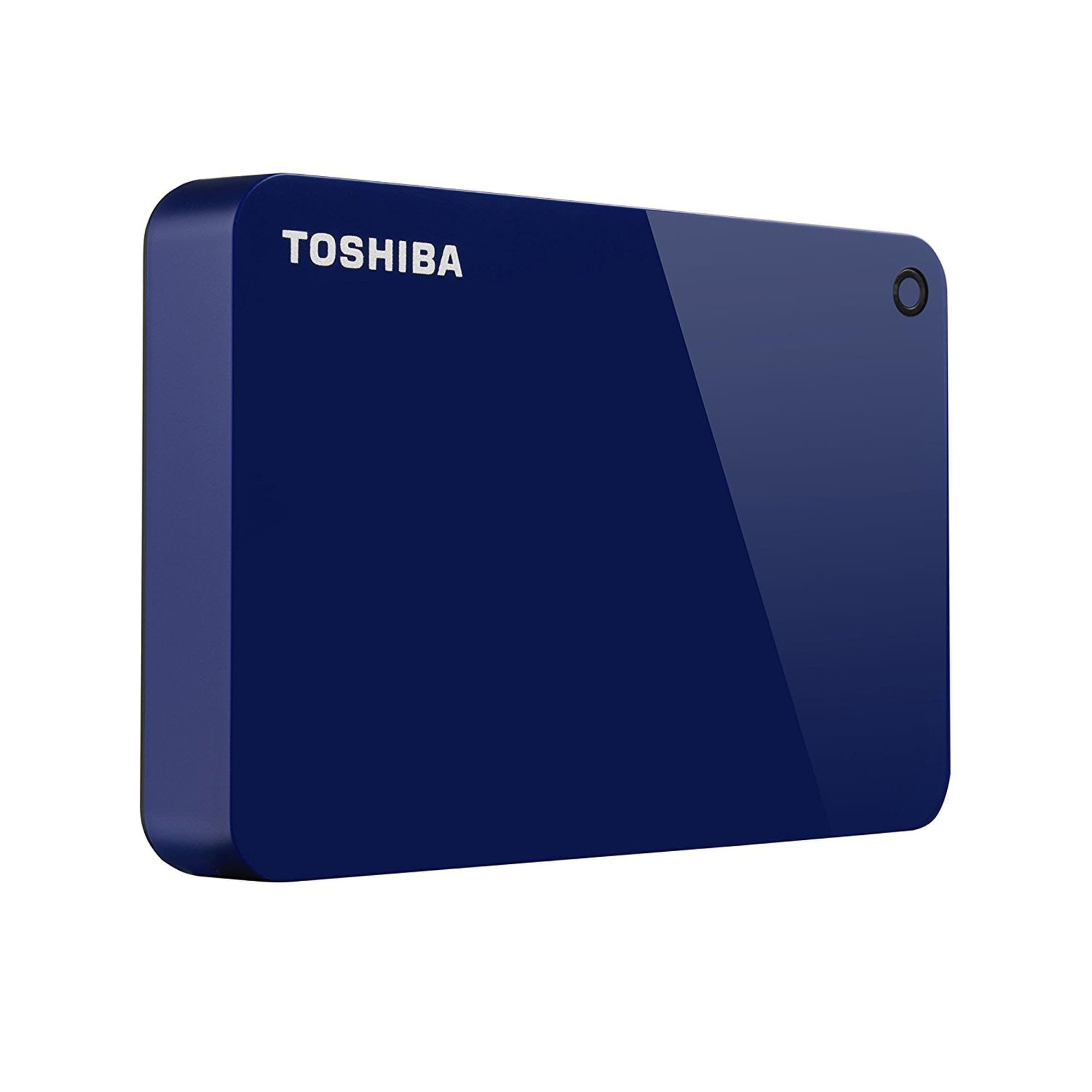 Toshiba Canvio Advance 3 Tb Portable External Hard Drive Usb 3.0 Blue   Hdtc930 Xl3 Ca by Toshiba