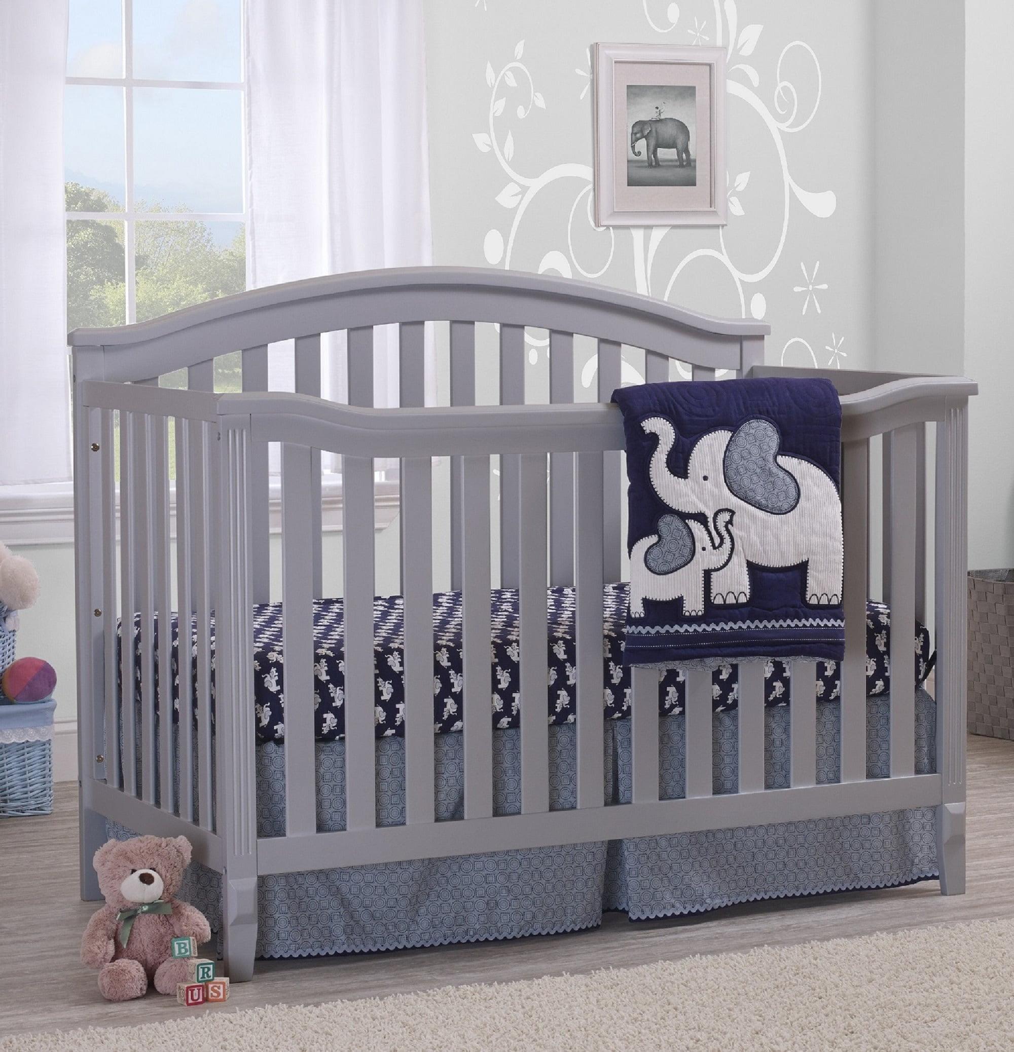 Sorelle Berkley 4 In 1 Convertible Crib Gray Walmart Com Walmart Com