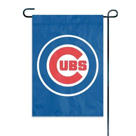 CHICAGO CUBS GARDEN / CAR WINDOW FLAG