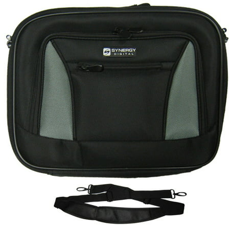 - HP Compaq Business Notebook nw9440 Mobile Workstation Laptop Case Carry Handle & Adjustable Shoulder Strap - Black/Gray - Adjustable & Removable Interior Dividers