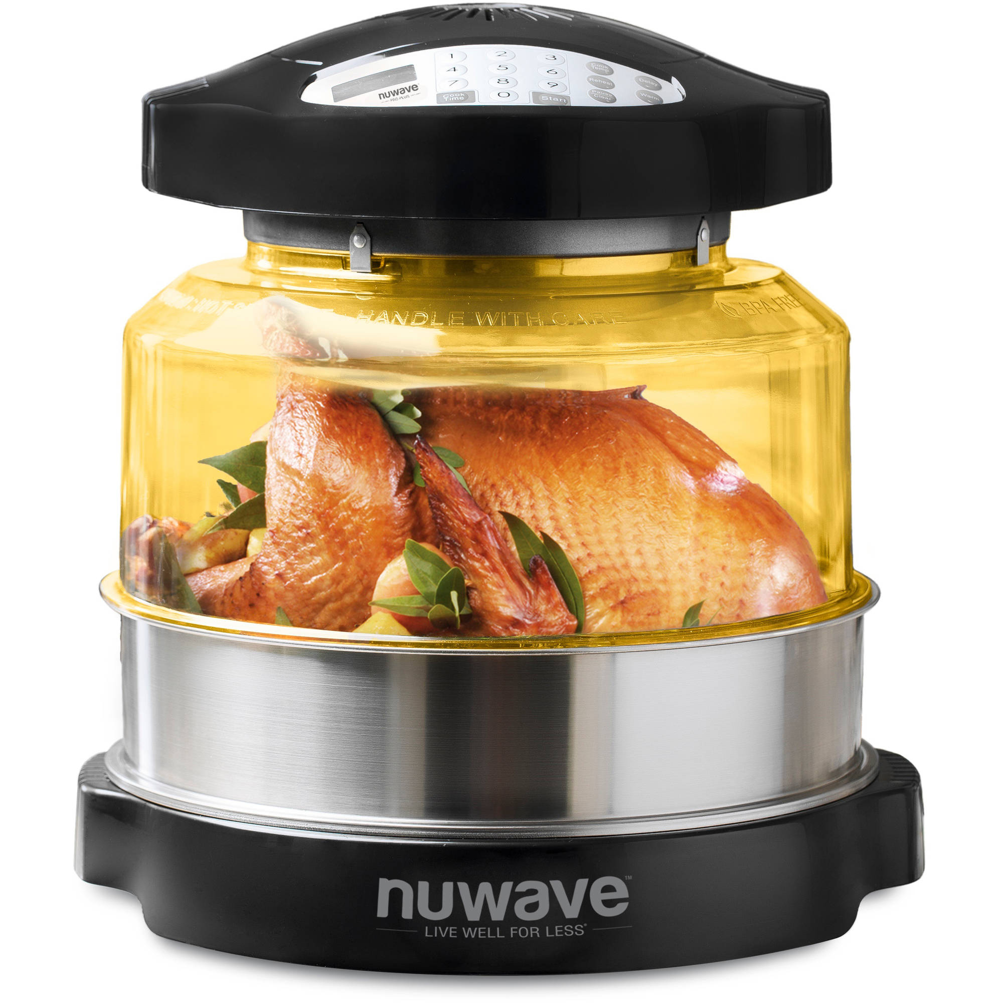 Nu-Wave Pro Plus Countertop Oven with Extender Ring Kit