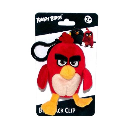 "Angry Birds Movie 4.5"" Plush Clip On: Red - image 1 de 1"