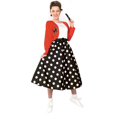 Polka Dot Rocker Costume for Adult - Costumes For Adults