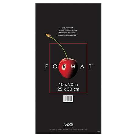 MCS Format Frame 10x20 - Black