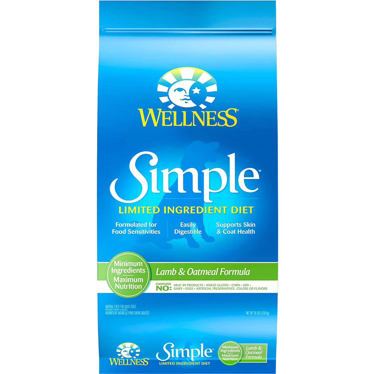 Wellness Simple Solutions Lamb and Oatmeal Formula Dry Dog Food by Wellpet Llc